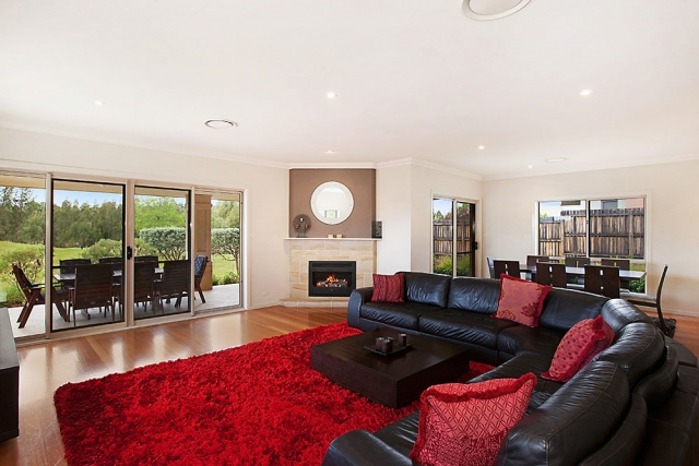Peppertree at the Vintage, Hunter Valley Holiday House with spacious living room